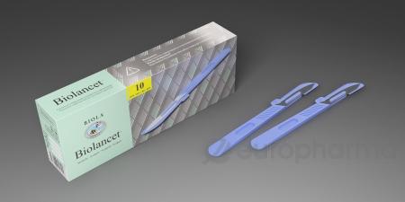 Скальпель Bio-Lancet стер.однораз.применения №21