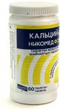Кальций Д3 форте со вкусом лимона 500 мг № 60 табл