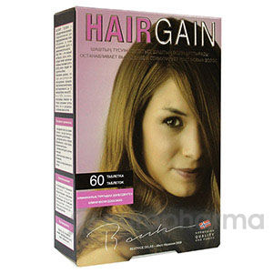 Хэйр Гейн (активатор роста волос) №60, табл.