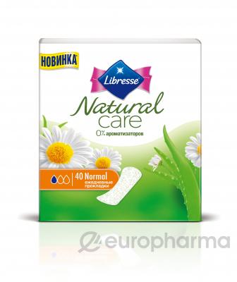 Libresse Прокладки Natural Pantyliners Normal Care №40