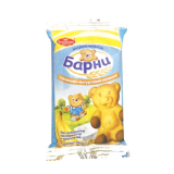 """Барни медвежонок с """"Бананово-йогуртной начинкой"""" 24х30 г"""
