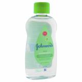 Johnson's baby масло с алоэ  200 мл
