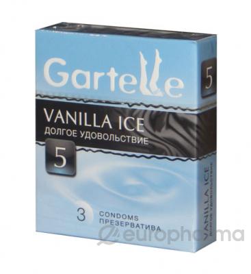 Презервативы Gartelle Vanilla Ice №3