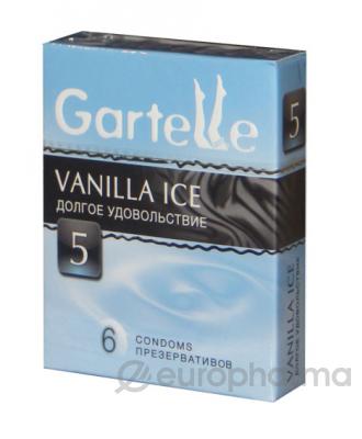 Презервативы Gartelle Vanilla Ice №6