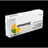 Орнисид 500 мг № 5 вагин. табл.