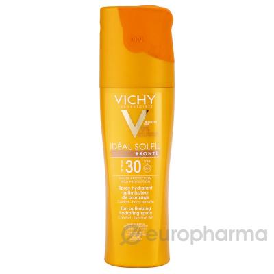 Vichy CAPITAL IDEAL SOLEIL спрей увлажняющий активатор загара для тела spf 30