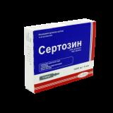 Сертозин раствор д/инъекций 1000 мг/4 мл № 5 амп