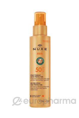 Nuxe Sun спрей солнцезащитный для лица и тела SPF50 150 мл