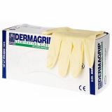 Перчатки DERMAGRIP EXAMINATION POWDER FREE cмотровые, нестерильные