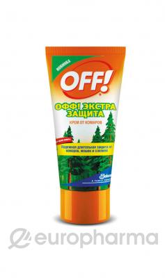 OFF Экстра защита крем от комаров 50 мл