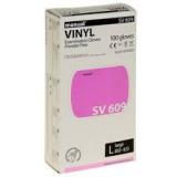 Перчатки Manual  VINYL(609) смотр. Нестер.  Неопудр. Винил. L, М