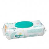 Pampers cалфетки детские влажные Sensitive 56