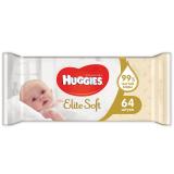 Huggies салфетки Elite Soft влажные № 64 шт