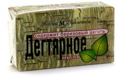 Невская косметика мыло дегтярное 140 гр