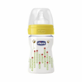 Chicco бутылочка для кормления силикон Пчелка Wellbeing 150 мл 0+
