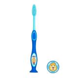 Chicco зубная щетка голубая 3-6 лет