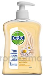 Dettol Антибактериальное жидкое мыло для рук Питание и ромашка 250 мл