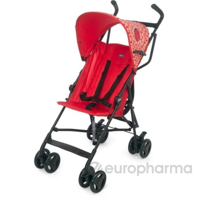 Chicco коляска прогулочная Snappy Ladybug розовая